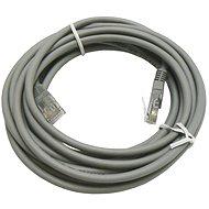 Hálózati kábel Datacom CAT5E UTP szürke 5m - Síťový kabel