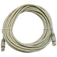 Hálózati kábel Datacom CAT5E UTP, szürke, 7 m - Síťový kabel
