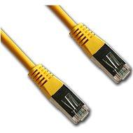 Datacom CAT5E FTP 0,5 m sárga - Hálózati kábel