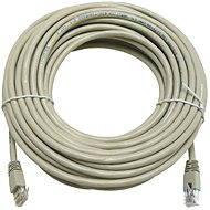 Hálózati kábel Datacom CAT5E UTP szürke 15 m - Síťový kabel