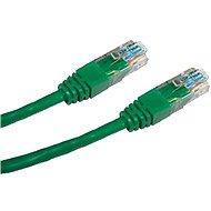CAT5E UTP Adatátviteli hálózati patch kábel 0.25 méter, zöld színű - Hálózati kábel