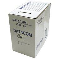Datacom CAT5E, UTP, 305 m/doboz
