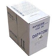 Datacom, drót, CAT5E, UTP, kültéri, 305m / doboz