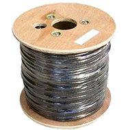 Hálózati kábel Adatátviteli hálózati kábel, drót, CAT6, UTP, PE, kültéri 500 m/tekercs
