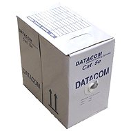 Datacom, sodrott, CAT5E, UTP, 305 m/doboz, kék - Hálózati kábel