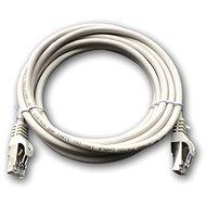 Datacom Patch cord S/FTP CAT6A 3m, szürke - Hálózati kábel