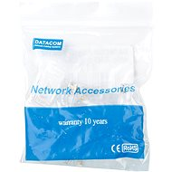 10-es csomag, Datacom, RJ45, CAT5E, UTP, 8P8C, drót - Csatlakozó