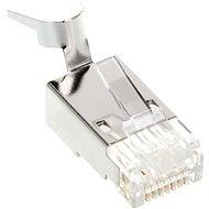Csatlakozó ROLINE 10-pack OEM, RJ45, CAT6, STP, 8p8c, tömör vezetékhez - Konektor