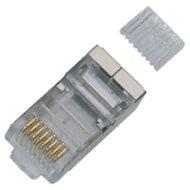 100-pack, Datacom, RJ45, CAT6, STP, 8p8c, árnyékolt, kábelhez - Csatlakozó