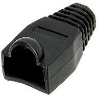 10-es csomag, műanyag, fekete, OEM, RJ45 - Csatlakozó fedő