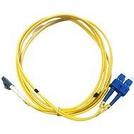 DATACOM LC-SC duplex 09/125 SM 2 m - Optikai kábel