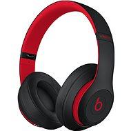 Beats Studio3 Wireless fekete-piros - Fej-/Fülhallgató