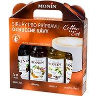 MONIN COFFEE BOX 4 x 0,25 liter szirup