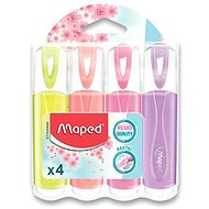 Maped Fluo Peps Pastel - 4 színből álló készlet