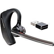 Plantronics Voyager 5200 UC Bluetooth Headset - fekete - Érintésmentes
