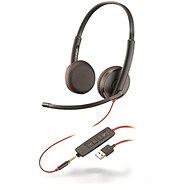 Plantronics BLACKWIRE 3225, USB-A és 3,5 mm-es csatlakozó - Fej-/fülhallgató