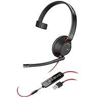 Plantronics BLACKWIRE 5210, USB-A - Fej-/fülhallgató