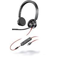Poly BLACKWIRE 3325 Microsoft, USB-C + 3,5mm - Fej-/fülhallgató