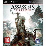 Assassins Creed III - PS3 - Konzoljáték