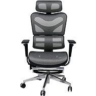 MOSH BS-702L fekete / fehér - Irodai szék