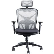 MOSH BS-601 fekete/fehér - Irodai szék