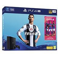 PlayStation 4 Pro 1TB + FIFA 19 - Játékkonzol