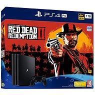 PlayStation 4 Pro 1TB + Red Dead Redemption 2 - Játékkonzol