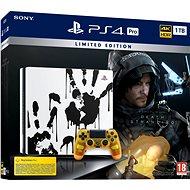 PlayStation 4 Pro 1TB Death Stranding Limited Edition - Játékkonzol