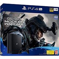 PlayStation 4 Pro 1 TB + Call of Duty: Modern hadviselés - Játékkonzol