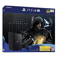 PlayStation 4 Pro 1TB + Death Stranding - Játékkonzol
