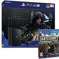 PlayStation 4 Pro 1TB + Death Stranding + Days Gone - Játékkonzol