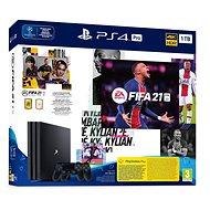 PlayStation 4 Pro 1TB + FIFA 21 + 2x DualShock 4 - Konzol