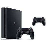 PlayStation 4 Slim 500 GB + 2x DualShock 4 - Játékkonzol