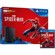 PlayStation 4 Slim 1 TB + Spider-Man - Játékkonzol