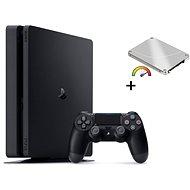 PlayStation 4 Slim 480GB SSD+ 500GB külső HDD - Játékkonzol