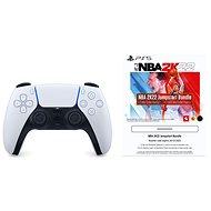 PlayStation 5 DualSense Wireless Controller + 2500 MyTeam Points NBA 2K22 - Kontroller