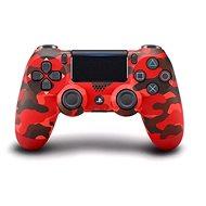 Sony PS4 Dualshock 4 V2 - Red Camouflage - Játékvezérlő