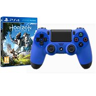 Sony PS4 Dualshock 4 V2 - Wave Blue + Horizon: Zero Dawn - Játékvezérlő