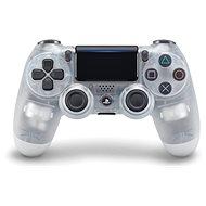 Sony PS4 Dualshock 4 V2 Kontroller - Crystal - Vezeték nélküli kontroller