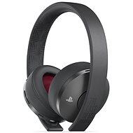 Sony PS4 Gold Wireless Headset Black - TLOU Part II Edition