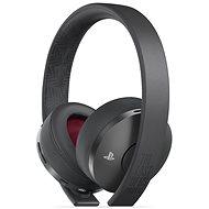 Sony PS4 Gold Wireless Headset Black - TLOU Part II Edition - Gamer fejhallgató
