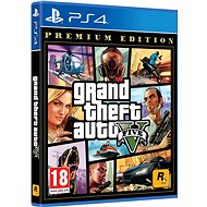 Grand Theft Auto V Premium Edition - PS4 - Konzoljáték