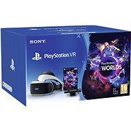 PlayStation VR PS4-hez + VR Worlds játék+ PS4 Kamera - VR szemüveg
