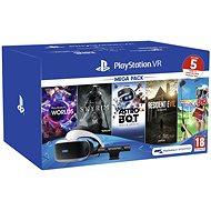 PlayStation VR Mega Pack 2 (PS VR + Kamera + 5 játék) - VR szemüveg
