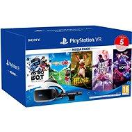 PlayStation VR Mega Pack 3 (PS VR + kamera + 5 játék + PS5 adapter) - VR szemüveg