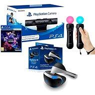 PlayStation PS4 VR + VR Worlds játék + kamera + PS4 PS MOVE Twin Pack - Virtuális valóság szemüveg