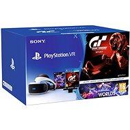 PlayStation VR a PS4 + VR Worlds + GT Sport + PS4 kamerához - Virtuális valóság szemüveg