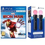 Marvels Iron Man VR - PS4 + 2x PS Move mozgásvezérlő - Konzol játék