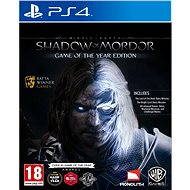 Middle Earth: Shadow of Mordor Game of The Year Edition - PS4 - Konzoljáték