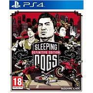 PS4 - Sleeping Dogs Definitive Edition - Konzol játék